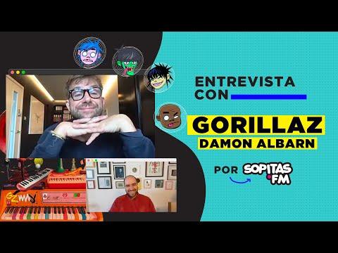 En YouTube: Entrevista con Damon Albarn | Gorillaz,