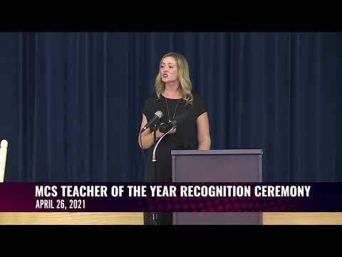 Murfreesboro City Schools 2020-2021 Teacher of the Year Recognition Ceremony