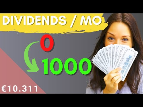 How dividend investing can earn $1000/mo in dividends with $100k (5 steps)