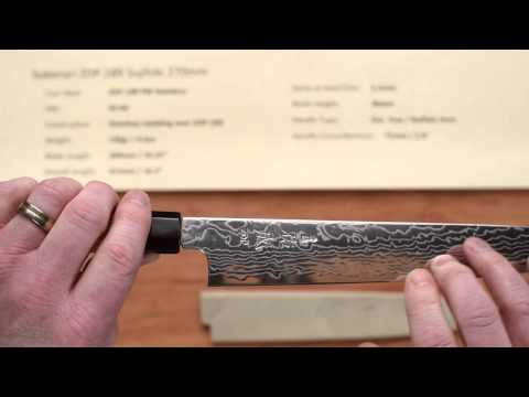 Sukenari ZDP 189 Sujihiki 270mm Quick Look