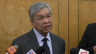 Zahid gives government one year to reduce cost of living with SST
