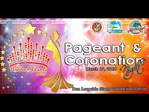 Miss Hundred Islands 2018 (Pageant and Coronation Night)