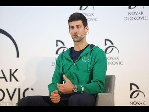 Novak Đoković odgovara na pitanja srpskih sportista i novinara