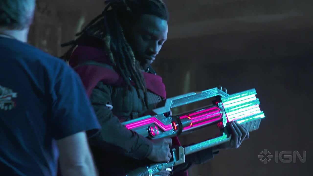 Men: Days of Future Past: Behind the Scenes With Bishop - YouTube X Men Days Of Future Past Bishop