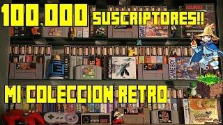 Mi Colección de Videojuegos Retro - ¡ESPECIAL 100,000 Suscriptores! - Pepe el Mago