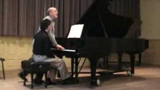 Brahms Intermezzo - Master class with Victor Rosenbaum- Part 2