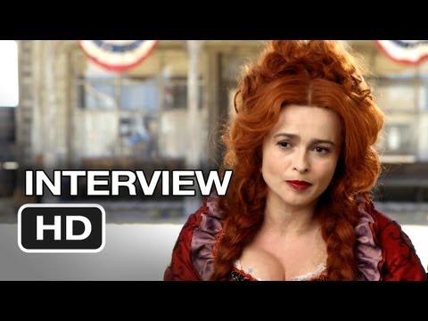 The Lone Ranger Interview - Helena Bonham Carter (2013) - Johnny Depp, Armie Hammer Western HD