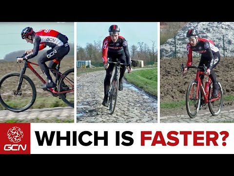 What's The Fastest Bike For Riding The Cobbles Of Paris-Roubaix ?