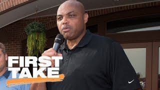 First Take reacts to Charles Barkley's comments on White House visits | First Take | ESPN
