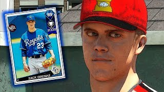 DIAMOND ZACK GREINKE IS THE ACE?! MLB THE SHOW 18 DIAMOND DYNASTY