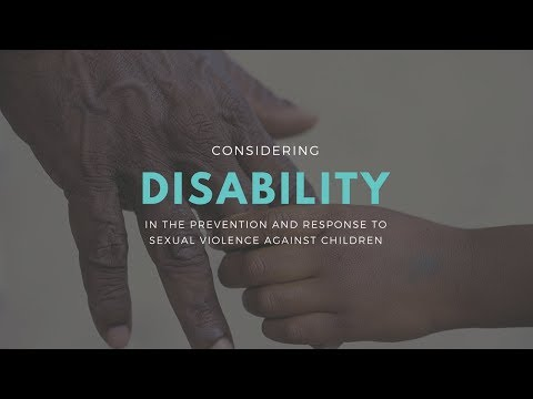 Responses to sexual violence against children with disabilities in South African townships