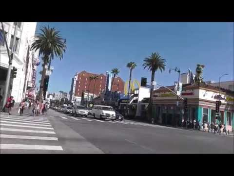 Hollywood Boulevard. Метро. Наш мотель. То место, где снималась Красотка.Голливуд как он есть.