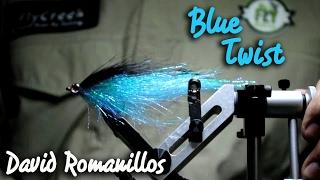 Streamer para lucio: Twist Azul por David Romanillos | Montaje The FlyCenter