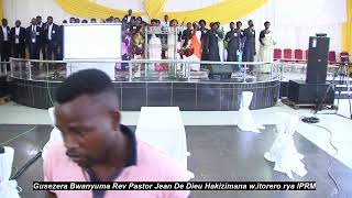 Gusezera Bwanyuma Rev Pastor Jean De Dieu Hakizimana 1