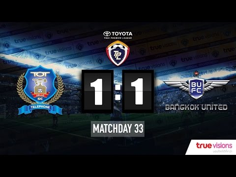 Highlight TPL 2015 - TOT SC 1-1 Bangkok United