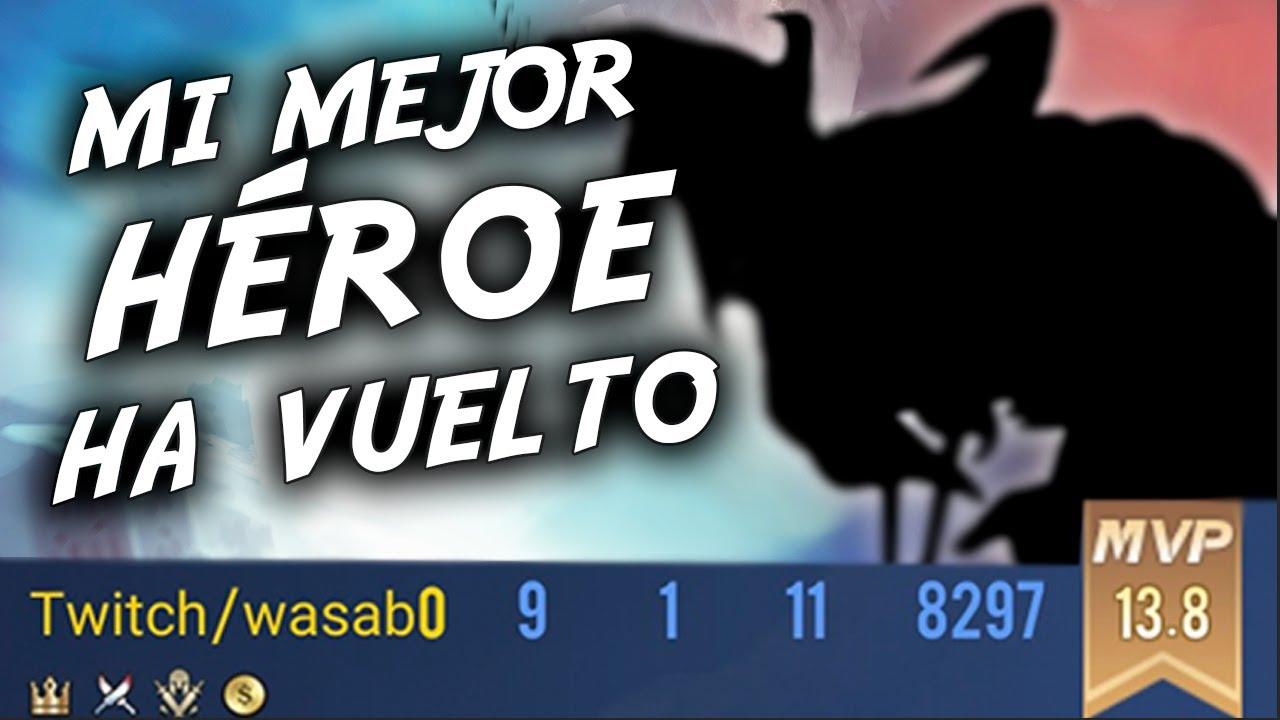 ¡¡SI QUIERO GANAR JUEGO ESTO!! Arena of Valor ESPAÑOL - wasab0