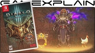 Diablo 3: Eternal Collection for Nintendo Switch - Reveal Trailer (+ Ganondorf Costume!)