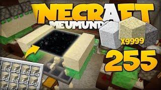 FARM DE AREIA e CASCALHO AUTOMÁTICA 1.15 // Meu Mundo #255 // Minecraft