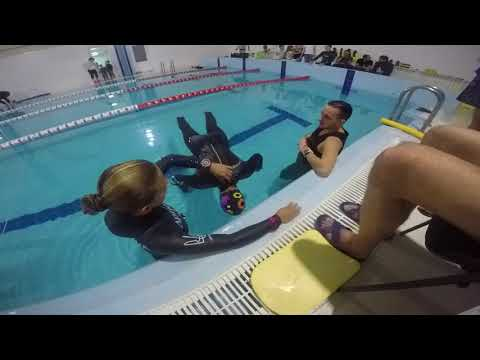 Anna Krivoruchko. STA 3:16. Kiev Freediving Cup 2017
