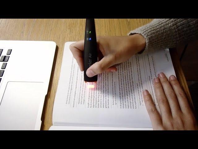 ScanMarker : le stylo connecté qui scanne les textes en un geste