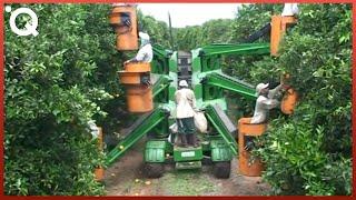 Unglaubliche moderne Maschinen für die Landwirtschaft