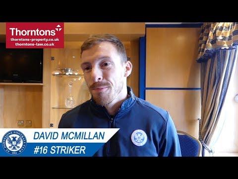 David McMillan on signing for Saints!