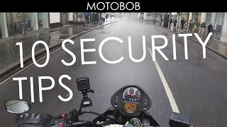 10 Tips For Motorcycle Security: How To Stop Your Bike Being Stolen