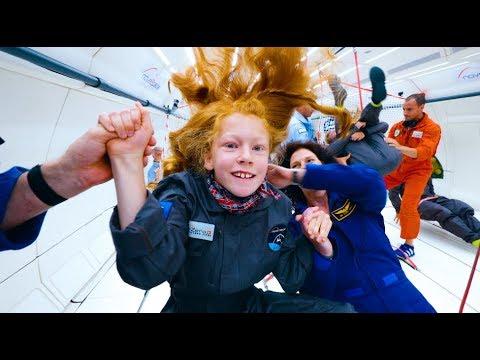 Extraordinary kids fly in zero gravity 4k youtube - Gravity movie 4k ...