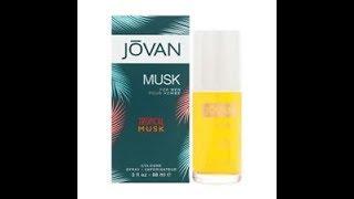 Review Jovan Tropical Musk for Men