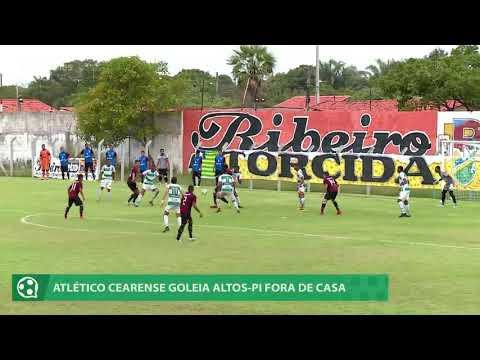 Atlético Cearense goleia Altos na Série D