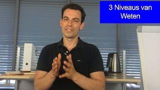 3 Niveaus van Weten