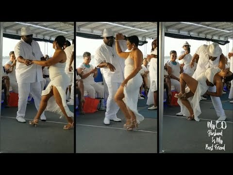 All White 50th Celebration Boat Party