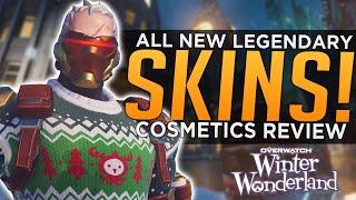 Overwatch: ALL NEW Winter Wonderland 2019 Cosmetics Review