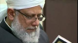 Gulshan-e-Waqfe Nau Nasirat, 20 Nov 2010, Educational class with Hadhrat Mirza Masroor Ahmad(aba)