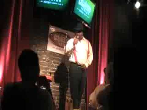 Darnell Hornsby a.k.a. Heavy Hitter stand up at the Comedy Union in Los Angeles