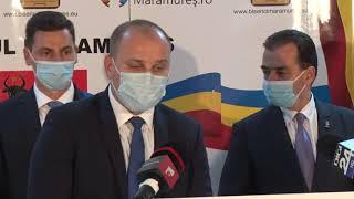 Conferinta de presa -  Constituirea Consiliului Judetean Maramures 2020 - 2024