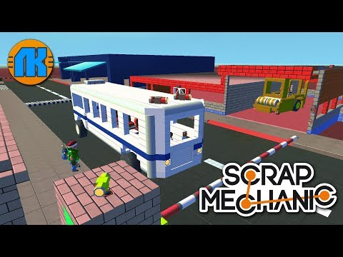 SUPER COOL MINI CITY \ GAME Scrap Mechanic \ FREE DOWNLOAD \ СКАЧАТЬ СКРАП МЕХАНИК !!!