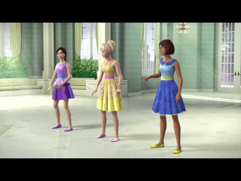 Barbie™ and The Secret Door - Princess Alexa Dancing with Her Friends