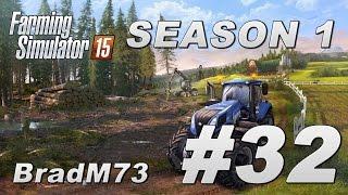 Farming Simulator 15 - Season 1 - Episode 32 - A New Computer!!