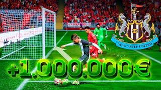 IMPARABLE MODO CARRERA MILLONARIO NEWCASTLE - FIFA 22 DjMaRiiO