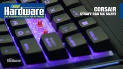 Corsair Strafe RGB MX Silent | Farbspieler und Leisetreter vor der Kamera