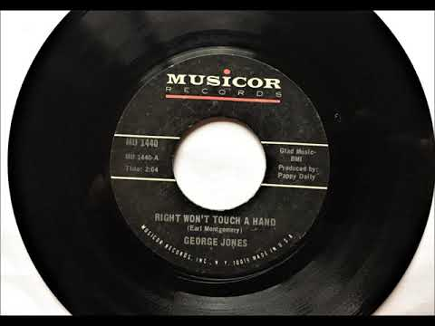 Right Won't Touch A Hand , George Jones , 1971 mp3
