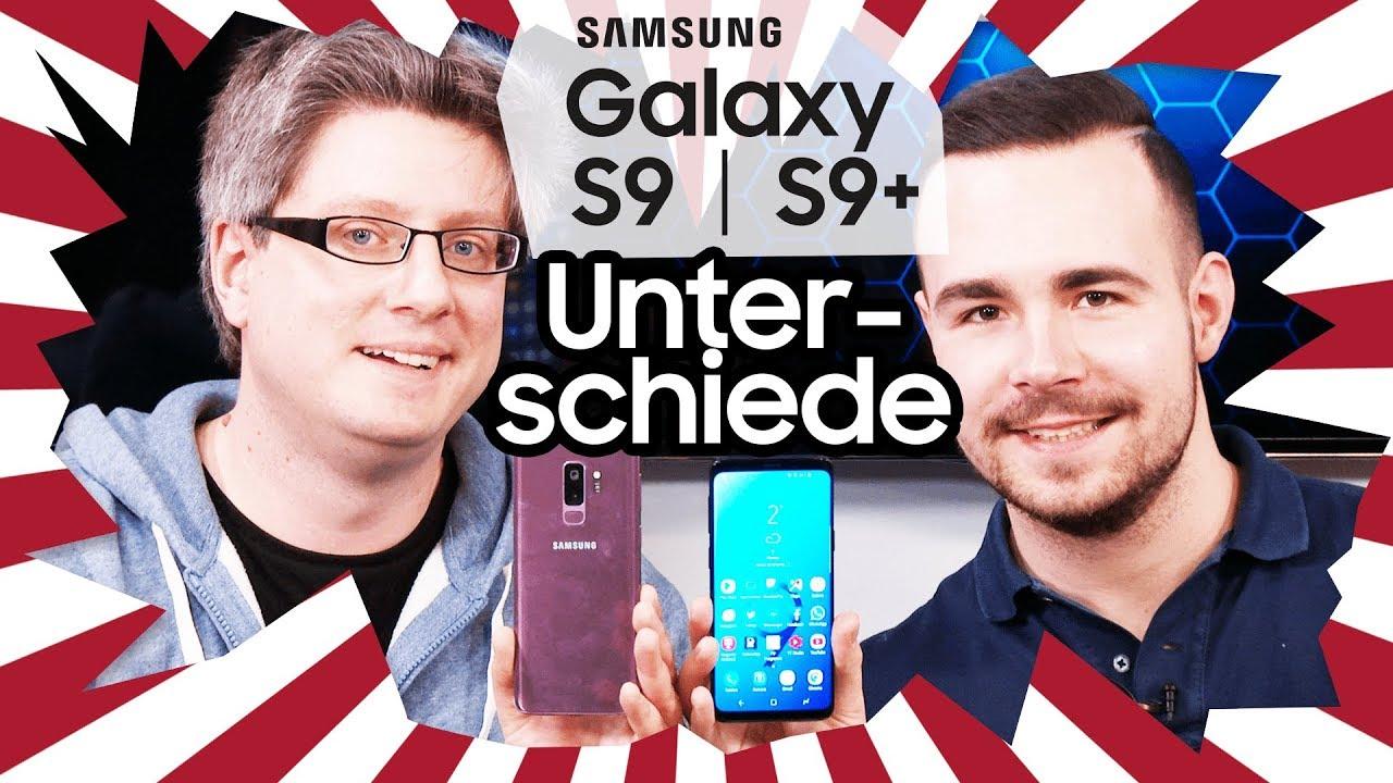 Samsung Galaxy S9 Vs S9 Die Wichtigsten Unterschiede Youtube