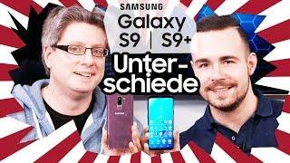 Samsung Galaxy S9 vs. S9+ - Die wichtigsten Unterschiede