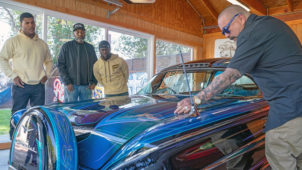 Kevin Hart Meets a Lowrider Club | Kevin Hart's Muscle Car Crew | MotorTrend