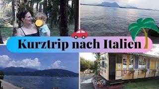 Vlog günstige Familienferien am Lago Maggiore im Camping Tranquilla Baveno