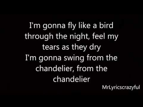 Sia - Chandelier HD (Lyrics On Screen)