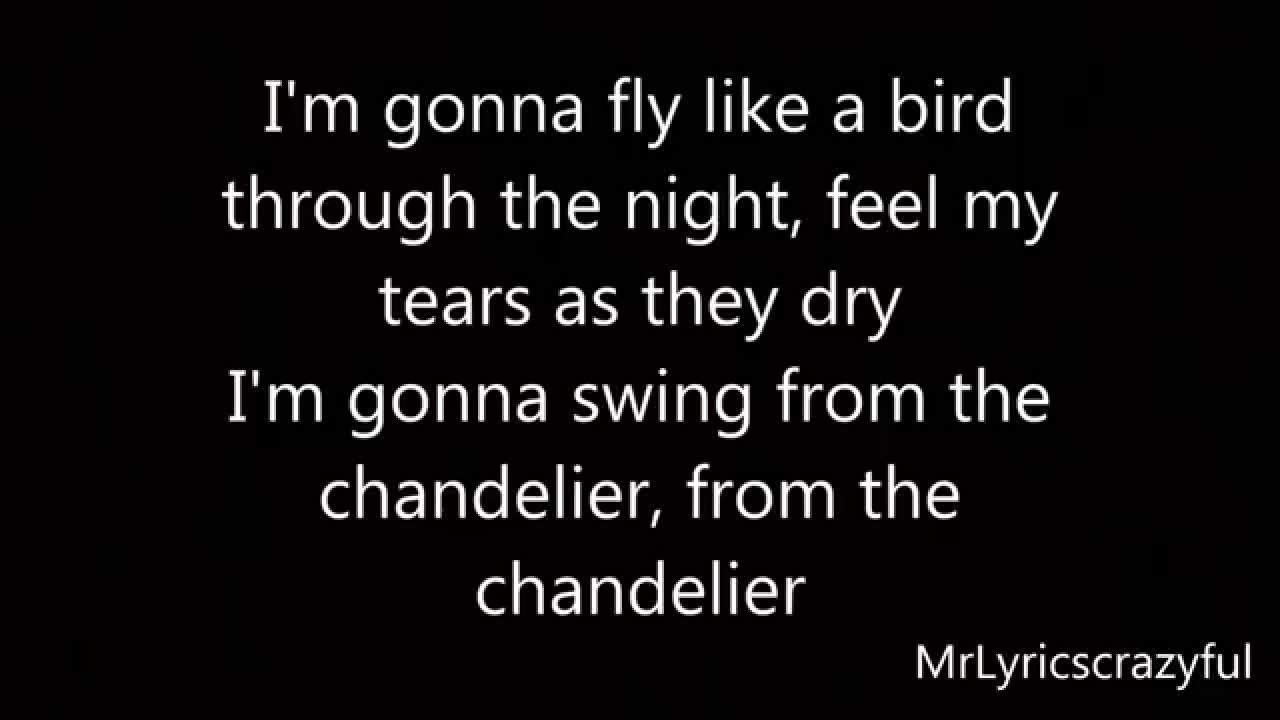 Sia - Chandelier HD (Lyrics On Screen) - YouTube