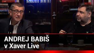 Xaver Live host: Andrej Babiš thumbnail