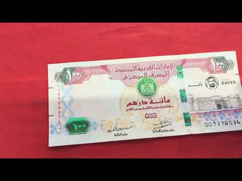 """100 Dirham """"The ever elusive Year of Zayed Banknote"""""""